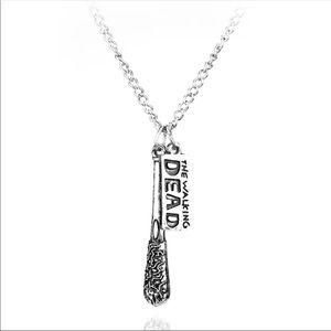 Boutique The Walking Dead Lucille Bat Necklace